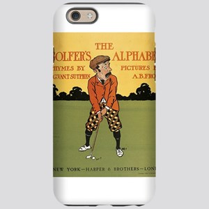 golfing art iPhone 6 Tough Case