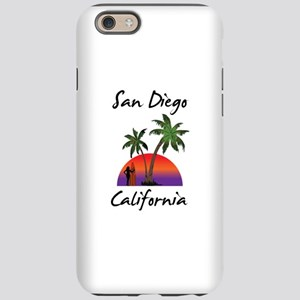 San Diego California iPhone 6 Tough Case