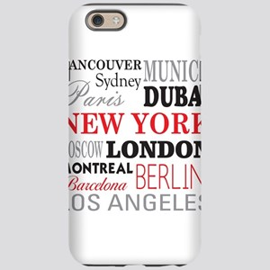 Cities of the World iPhone 6 Tough Case