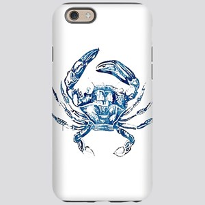 coastal nautical beach crab iPhone 6 Tough Case