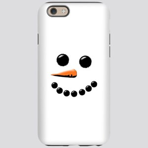 Happy Snowman Face iPhone 6 Tough Case
