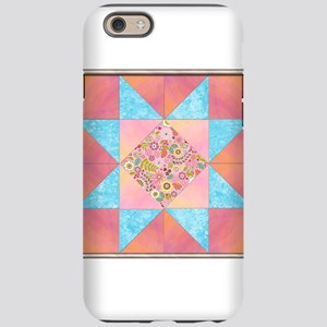 Sunset and Water Quilt Square. iPhone 6 Tough Case