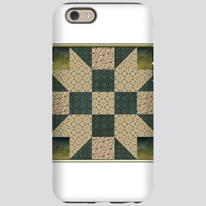Patch Star Gold and Green copy iPhone 6 Tough Case