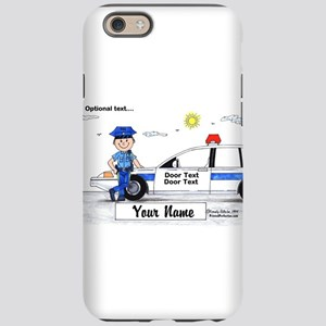 Police Officer - Blue Uniform, Male iPhone 6 Tough