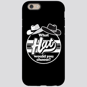 Westworld W Hat Would You C iPhone 6/6s Tough Case
