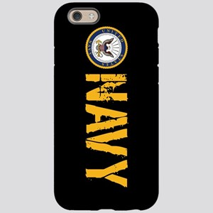 U.S. Navy: Navy (Black) iPhone 6 Tough Case