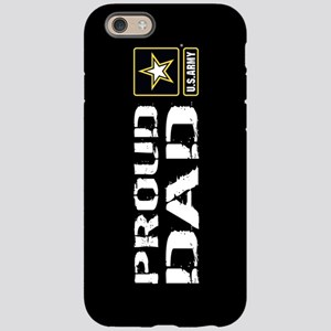 U.S. Army: Proud Dad (Black iPhone 6/6s Tough Case