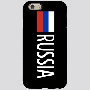 Russia: Russian Flag & Russ iPhone 6/6s Tough Case