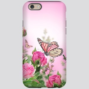 Butterfly Flowers iPhone 6/6s Tough Case