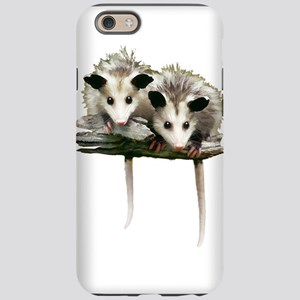 Baby Possums on a Branch iPhone 6 Tough Case