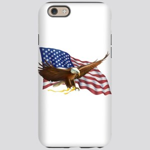 American Flag and Eagle iPhone 6 Tough Case