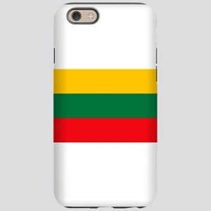 Lithuania Flag iPhone 6 Tough Case