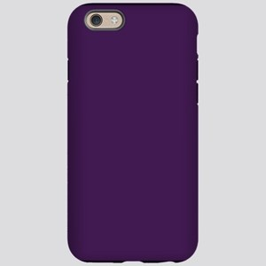 modern eggplant purple iPhone 6 Tough Case