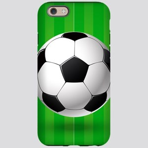 Football Ball And Field iPhone 6 Tough Case
