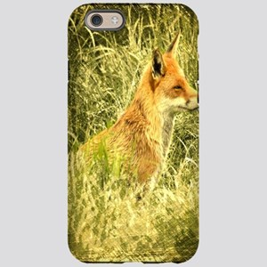 nature wildlife red fox iPhone 6 Tough Case