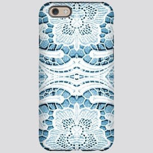 girly hipster blue lace beach iPhone 6 Tough Case