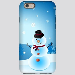 Holiday Snowman iPhone 6/6s Tough Case