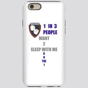 1 In 3 People iPhone 6/6s Tough Case