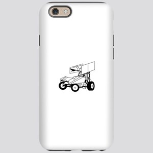 Sprint Car Outline iPhone 6 Tough Case