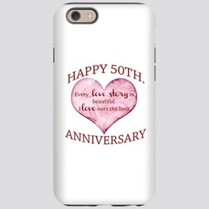 50th. Anniversary iPhone 6 Tough Case