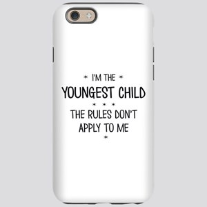 YOUNGEST CHILD 3 iPhone 6/6s Tough Case