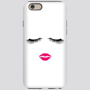 Lipstick and Eyelashes iPhone 6/6s Tough Case