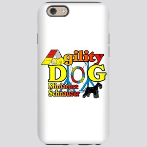Mini Schnauzer Agility iPhone 6/6s Tough Case