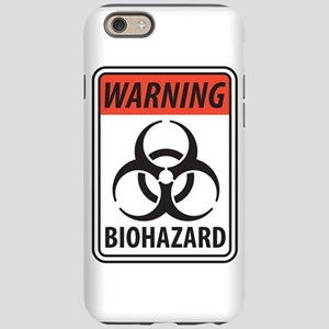 Biohazard Warning iPhone 6 Tough Case