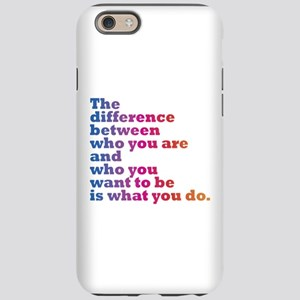 The Difference (blue/pink) iPhone 6 Tough Case