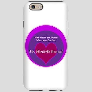 best website 6bbd2 59227 Elizabeth Bennet IPhone Cases - CafePress