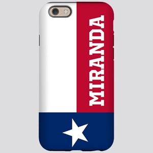 Monogram Flag of Texas iPhone 6 Tough Case