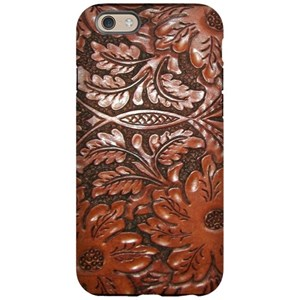 san francisco 084c7 7af45 Western Tooled Leather iPhone 6/6s Tough Case