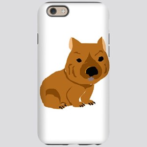 Funny Brown Wombat iPhone 6 Tough Case