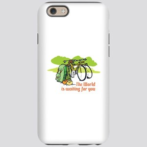 WORLD IS WAITING iPhone 6 Tough Case