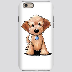 cfa80745 KiniArt Goldendoodle Puppy iPhone 6 Tough Case