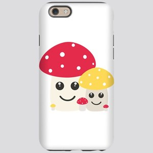 Cute colorful mushrooms iPhone 6/6s Tough Case