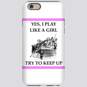 play ike a girl iPhone 6 Tough Case