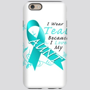 I Wear Teal Because I Love My Aunt iPhone 6/6s Tou