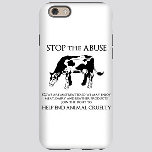 Cow Abuse iPhone 6 Tough Case