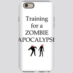 Training for Zombie iPhone 6 Tough Case