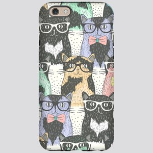 Hipster Cats iPhone 6/6s Tough Case