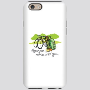 WORRIES BEHIND YOU iPhone 6 Tough Case