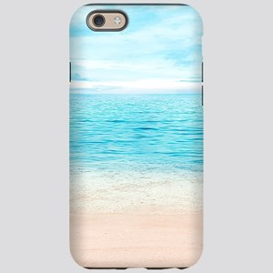 White Sand Beach iPhone 6 Tough Case