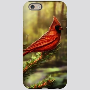 cardinal bird iPhone 6 Tough Case