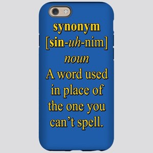 Synonyms Dictionary IPhone Cases - CafePress