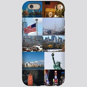 New York Pro Photo Montage-Stu iPhone 6 Tough Case