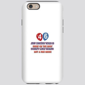 46 year old designs iPhone 6 Tough Case