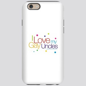 gayUncles-new iPhone 6 Tough Case