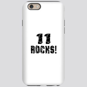 11 Rocks Birthday Designs iPhone 6 Tough Case