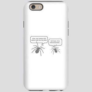 Too Much Time On The Web iPhone 6 Tough Case